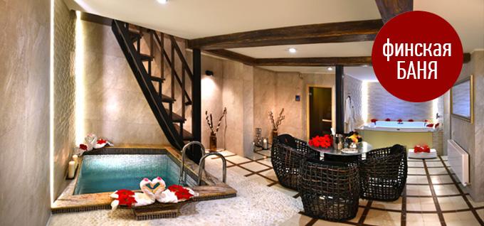 Финские бани в Краснодаре. Бани Bali Love Hotel